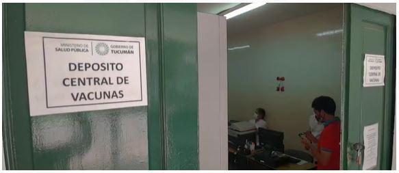 Central de vacunas