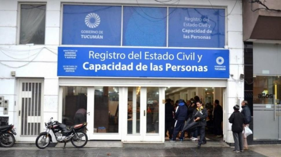 Registro Civil tucuman