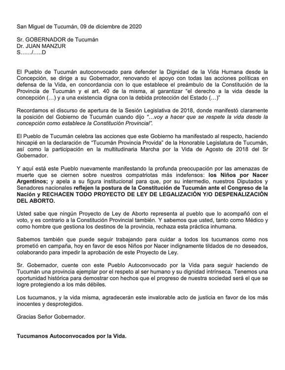 Carta al Gobernador -Manifestación Provida- 09_12_20-1