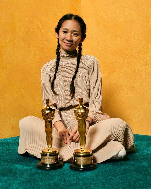 Chloé Zhao (Tomada de twitter de The Academy)