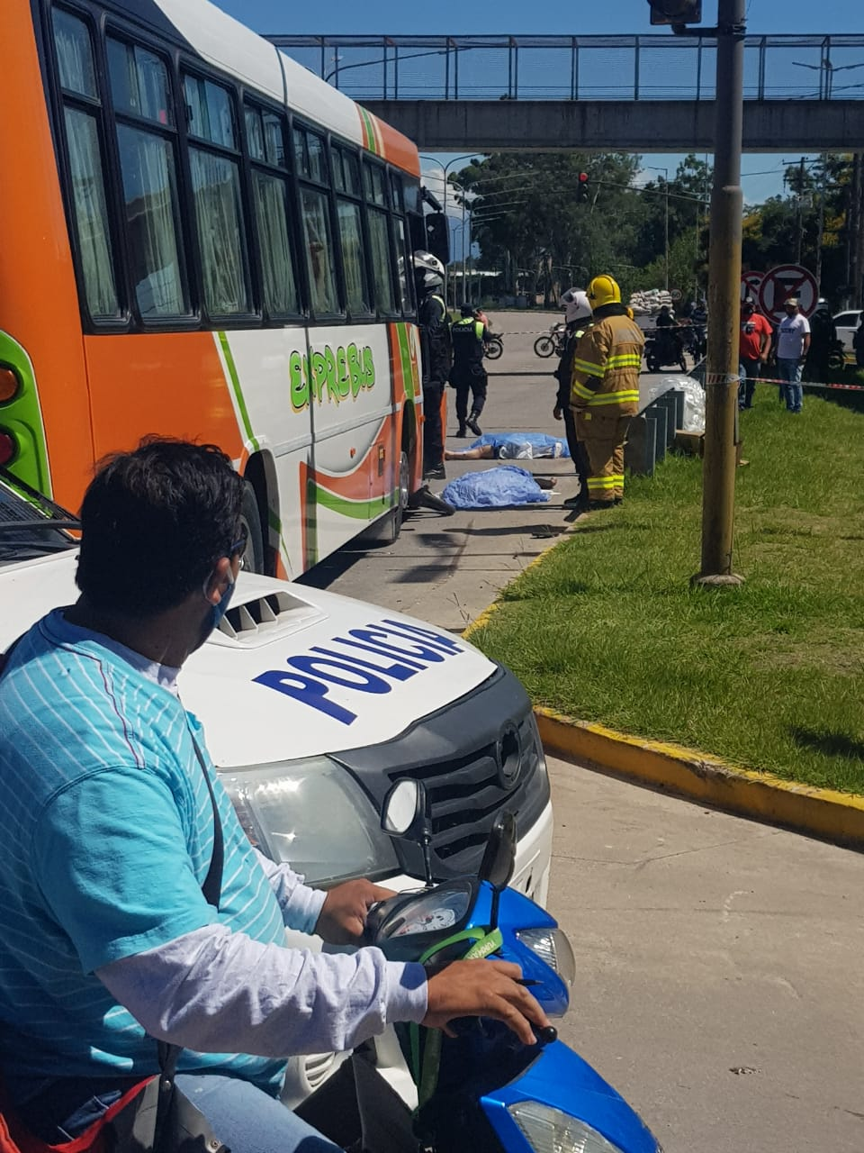 Accidente en Concepción, dos personas fallecieron