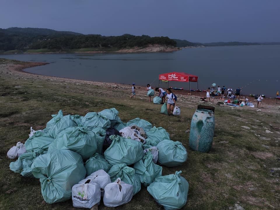 SOS Tierra basura recogida en EL Cadillal